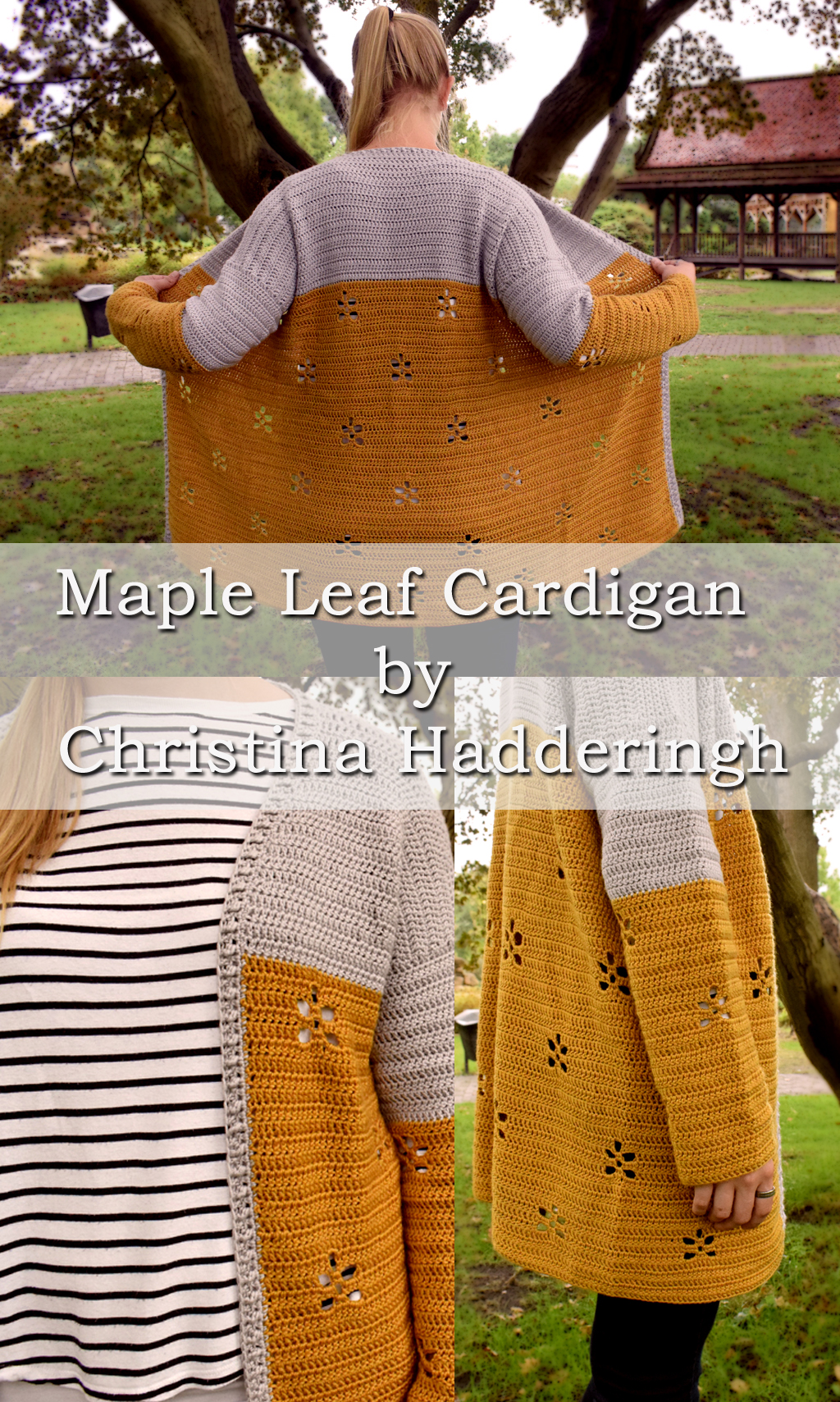 various colors 7bd94 9970c Free crochet pattern: the Maple Leaf Cardigan – A Spoonful ...